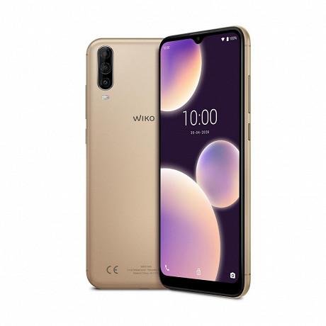 """Wiko Smartphone 6.52"""" VIEW4 LITE LS DEEP GOLD"""