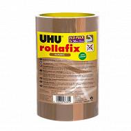 Uhu lot ruban d'emballage brun 3 x 50m