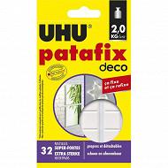 Uhu - Patafix deco 32 pastilles pré-découpées