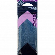 Style couture thermocollant jean clair 45cm x 12cm