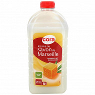 Cora lessive liquide Marseille ecopack 1,755l