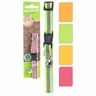 Collier pour chat fluo