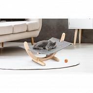 Jardikt hamac pour chat gris 680g