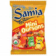 Samia bonbons sachet gélifiés ourson halal 200g