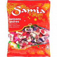 Samia bonbons tendres fruits halal 590g