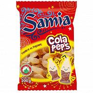 Samia bonbons sachet gélifiés cola halal  200g