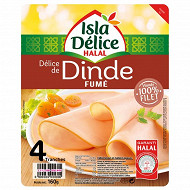 Isla Délice blanc de dinde fumé halal 160g