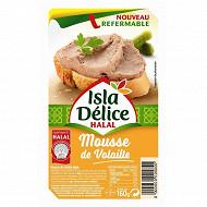 Isla Délice mousse de foie de volaille 160g