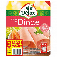 Isla Délice - délice de dinde halal 8 tranches 240g