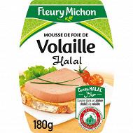 Fleury michon mousse de foie volaille halal soit 180 g