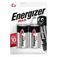 Energizer 2 piles Max LR14 (C)