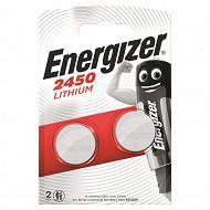 Energizer 2 piles miniature cr 2450