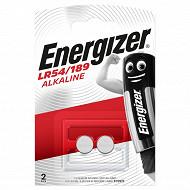 Energizer piles appareil électronique 189*2 - lr54*2