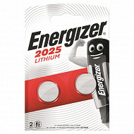 Energizer 2 piles boutons CR 2025