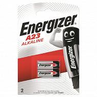 Energizer 2 piles alarme  A23/E23A