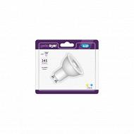 Getic spot LED reflecteur GU10 equivalent 50W 2700K