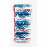 4 piles alcalines D (LR20)