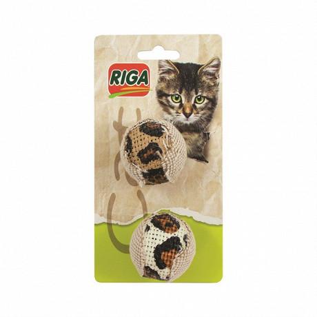 Riga balle tissu x2
