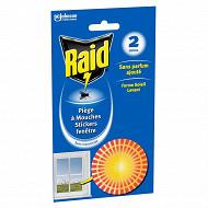 Raid piège à mouche sticker fenêtre soleil*2