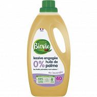 Biovie lessive concentrée lavandin 40 lavages 2l