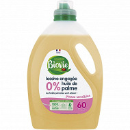 Biovie lessive concentrée peaux sensible 60 lavages 3l