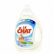 Le chat sensitive marseille & lait d'amande douce 2l - 40 lavages
