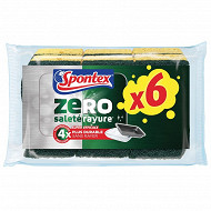 Spontex zero surfaces encrassees x6