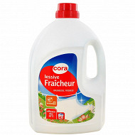 Cora lessive liquide fraîcheur 3l 40 lavages