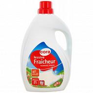 Cora lessive liquide fraicheur 2.025l  27 lavages