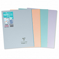 Clairefontaine koverbook blush spirale polypro 96 pages 24x32cm