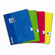Oxford cahier reliure intégral openflex 17c22cm 100 pages seyes