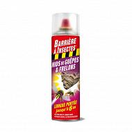 Barrière insectes guêpes frelons special nids aérosol 500ml