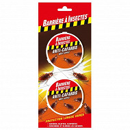 Barrière à insectes anti-cafards cloportes 6 G