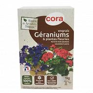 Cora engrais géraniums AB 1kg