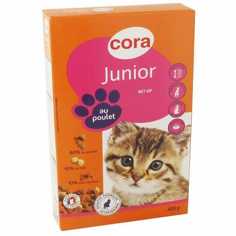 Cora croquettes chat junior 400g