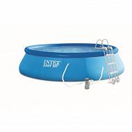 Kit piscine easy set 4.57mx1.07m