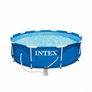 Intex kit piscinette tubulaire 3m05 x 76cm