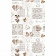 Nappe polyester rect 150x300cm sweet ecru