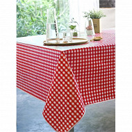 Nappe polyester 150x250cm andrew rouge
