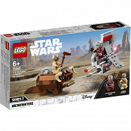 75265 Lego star wars - Le combat des microfighters : t-16 skyhoppe