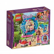 Lego l'aire de jeu du hamster d'Olivia
