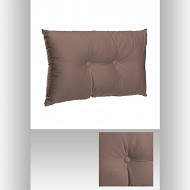 Coussin taupe 30x50cm