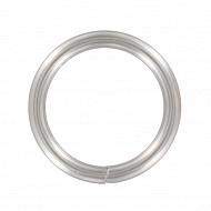 Anneaux x6 chrome mat diamètre 20mm