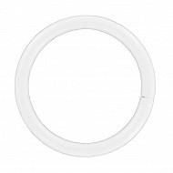 Anneaux x10 blanc diamètre 20mm
