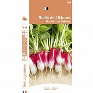 France graines radis de 18 jours