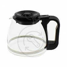 Home Equipement verseuse conique couleur noire avec couvercle adaptable A05BLACK