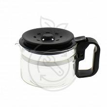 Home Equipement verseuse couleur noire avec couvercle adaptable 9-12 T A02BLACK