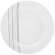 Assiette plate lignes 27 cm