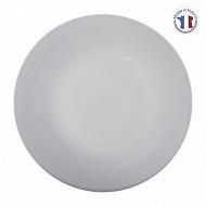 Assiette plate jeanne blanche 25 cm