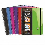 Clairefontaine cahier reliure intégrale 224x297 mm grands carreaux 160 pages
